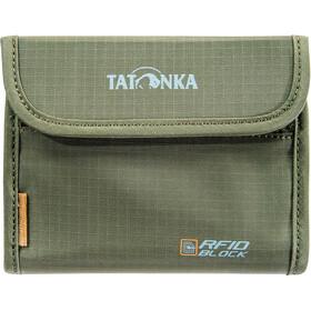 Tatonka Euro Portafogli RFID B, verde oliva